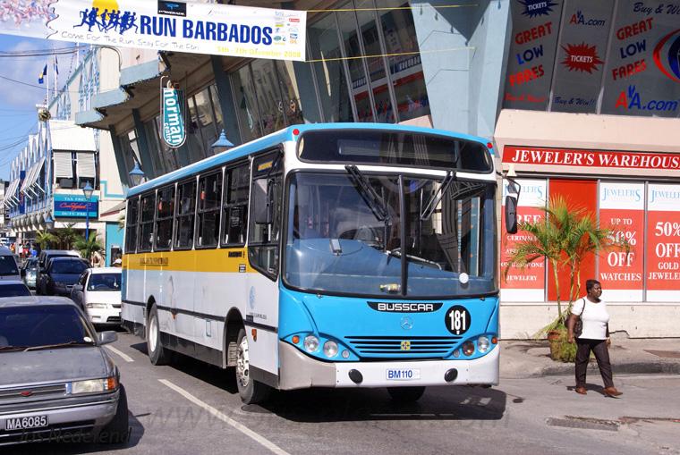 Mercedes Marco Polo 2008 >> Buses in Barbados